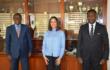 Le Ministre des Sports et des loisirs reçoit des émissaires de la FIFA avant l'installation du Comité de Normalisation