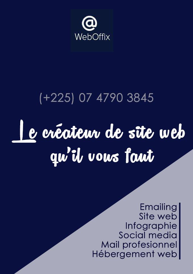 Weboffix Côte d'Ivoire