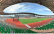 COTE D'IVOIRE / Le stade Alassane  OUATTARA de la Cité Olympique d'Ebimpé fermé pour mise à niveau.