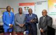 """TELECOMMUNICATIONS : LES PREMIERS ORDINATEUR ET SMARTPHONE """"MADE IN COTE D'IVOIRE"""" REMIS AU MINISTRE ROGER FELIX ADOM"""
